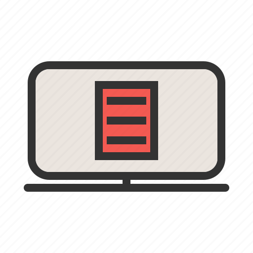 account, bank, credit, e-statement, report, statement icon