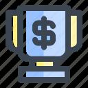 achievement, business, finance, prize, success, trophy, winner icon