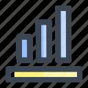 analysis, business, chart, finance, graph, profit, statistics icon