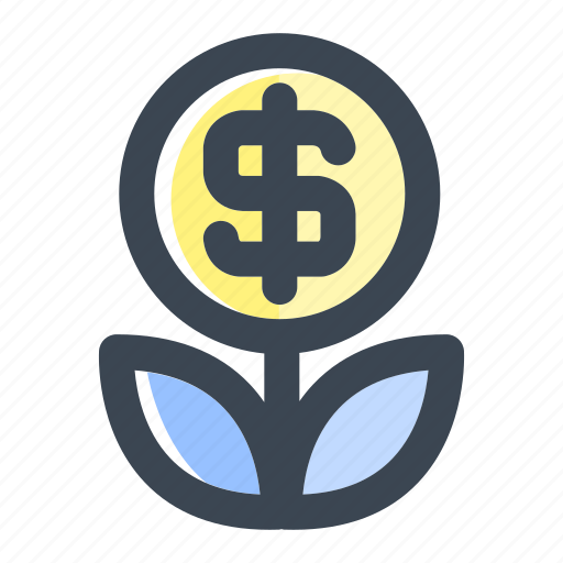 business, finance, growth, invest, investation, investment, money icon