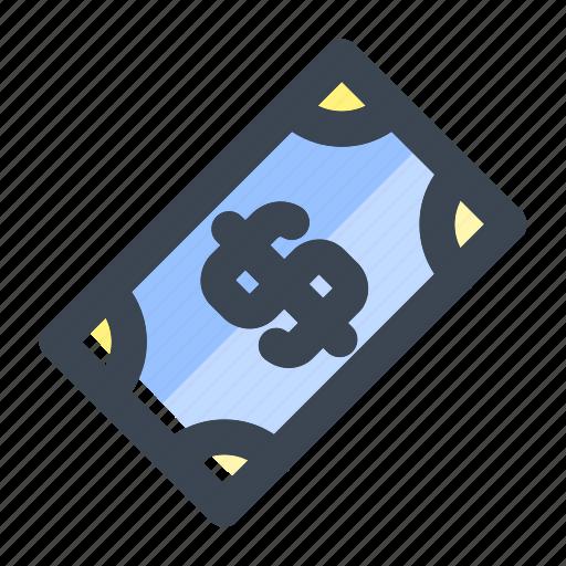 business, cash, dollar, dollar money, finance, money, payment icon