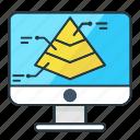 analytics, business, chart, computer, finance, graph, pyramid