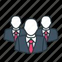 business, employee, finance, man, office, worker icon