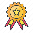 achievement, award, business, finance, reward, star