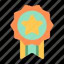 appreciation, award, business, finance, guarantee, loyalty, medal icon