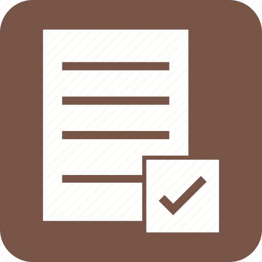 check, checklist, clearing, clipboard, document, list, paper icon