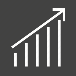 chart, economy, graphs, growth, information, report, stats icon
