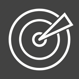 marketing, research, search, segmentation, targeting, targets icon