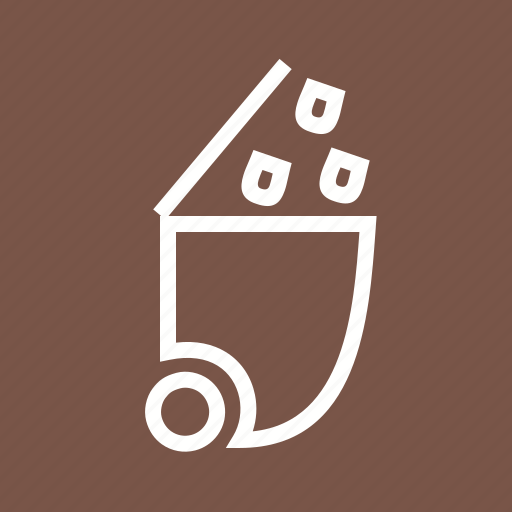 basket, bin, dustbin, garbage, recycle, recycling, trash icon