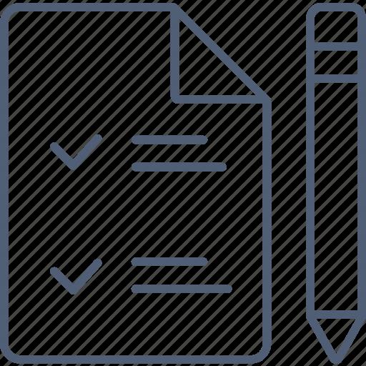 checkform, checklist, document, note, plan icon