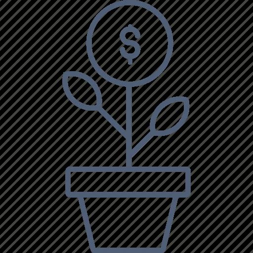 Profit, earnings, profits, investment icon