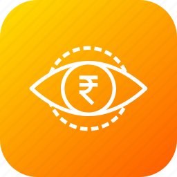 business, finance, overview, vision icon