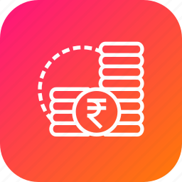 cash, coins, finance, indian, money, rupee icon