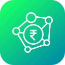 banking, business, connection, indian, money, payment, rupee