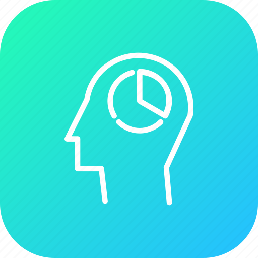 analysis, business, chart, graph, mind, people, strategy icon