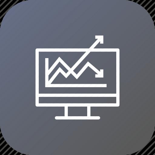 analysis, analytics, business, chart, graph, growth, statics icon