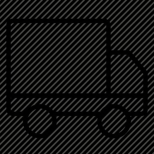 automobile, delivery, drive, fulfilment, shipping, truck icon