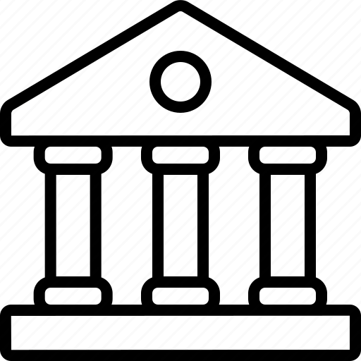 bank, finance, financial, institution, loan, stock, treasury icon