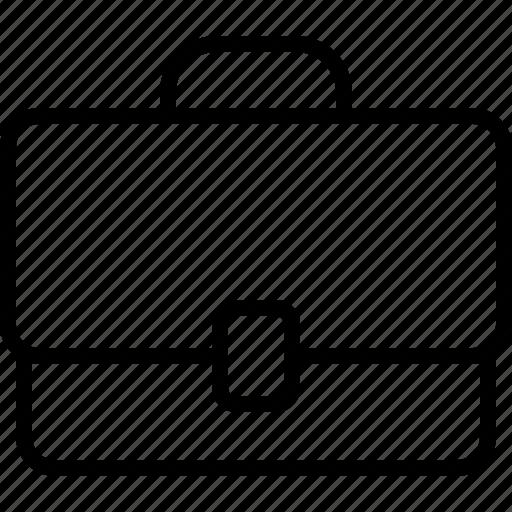 brief case, briefcase, business, portfolio, suitcase, work, workcase icon