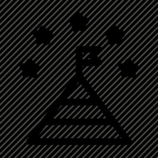 achievement, award, business, company, finance, goal, target icon