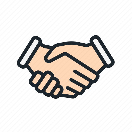business, contract, deal, friendship, handshake, partners, partnership icon