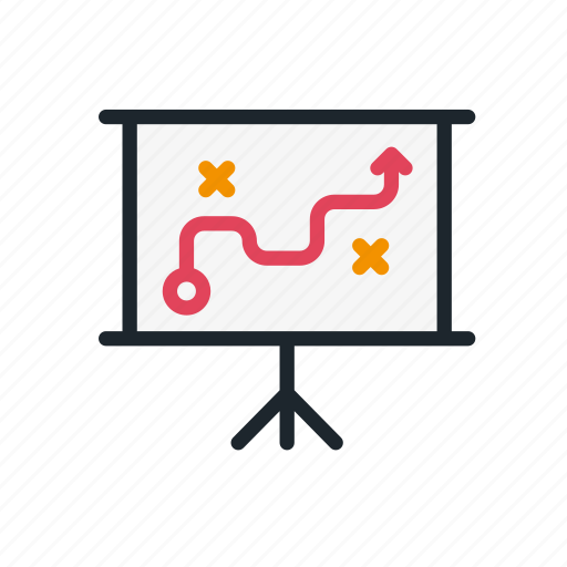 business, management, marketing, startup, strategy, tactics icon
