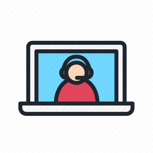 business, call, marketing, online, operator, service, strategy icon