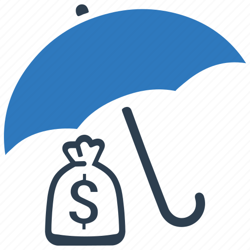 business insurance, financial, money insurance, protection, umbrella icon