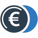 cash, coin stack, coins, currency, euro, money, treasure icon