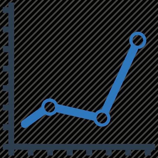 analytics, axis, chart, report, statistics icon