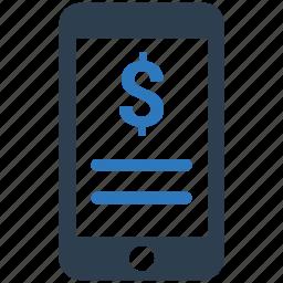 finance, internet banking, mobile banking, online banking icon