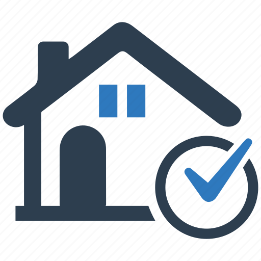 approved, check mark, finance, home loan, mortgage, real estate, stamp icon