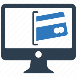 credit card, online, online shopping, payment icon