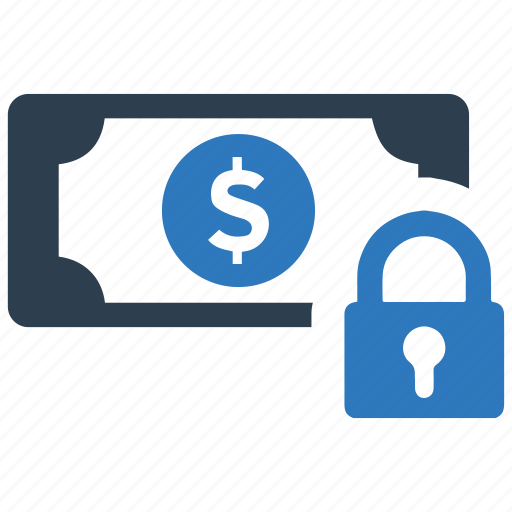 Money safety, money security, secure loan icon - Download on Iconfinder