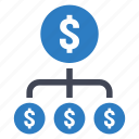 dollar, investment, payment icon
