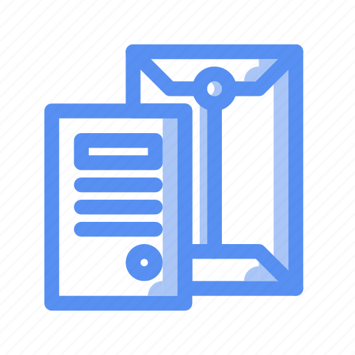 agreement, business, company, document, finance, letter, mail icon