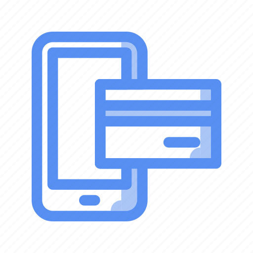 bank, business, card, company, credit, finance, mobile payment icon