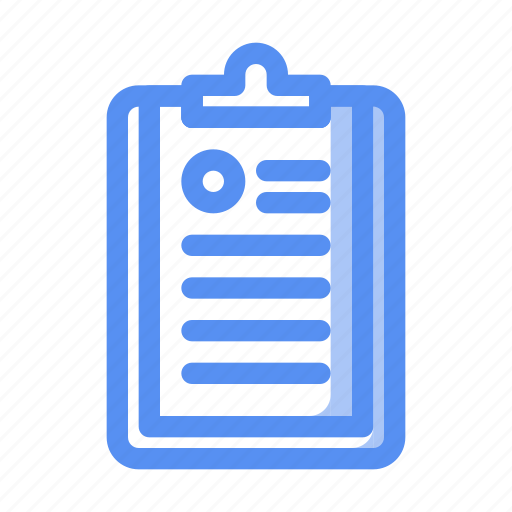 business, clipboard, company, document, file, finance, list icon