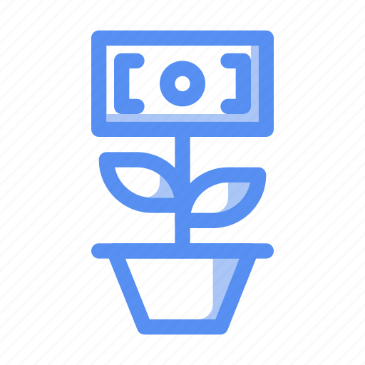 business, finance, growth, invest, investment, money, profit icon
