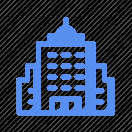 asset, building, business, company, finance, office, skyscraper icon