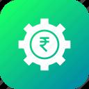 management, gear, money, rupee, optimization, indian