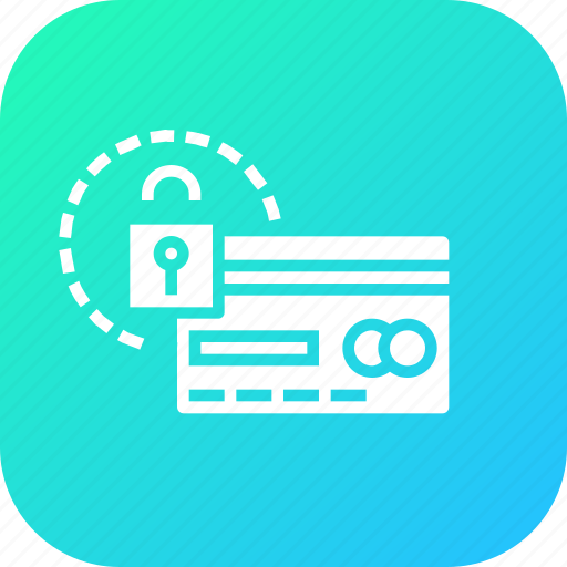 atm, card, credit, debit, payment, protected, secure icon