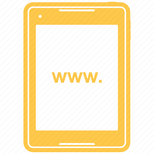 call, mobile, phone, tab icon
