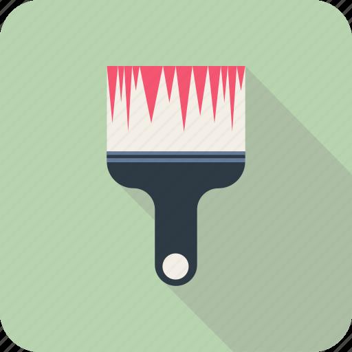 brush, edit, paint, paintbrush icon