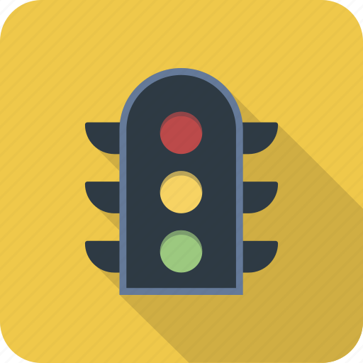 green, light, red, road, sign, traffic, yellow icon