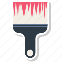 brush, edit, paint, paintbrush icon