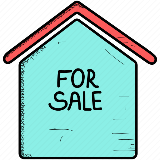 for, home, house, sale icon