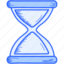 sand, sandwatch, time, watch icon