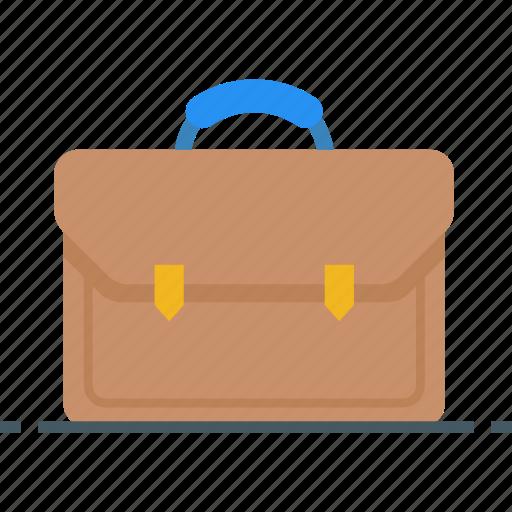 brief case, briefcase, business, portfolio, suitcase, work, workcase icon icon