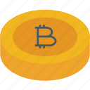 bitcoin, coin, currency, digital currency, digital walet, money icon icon